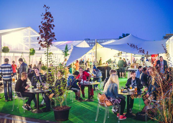Prague Beer Festival tents