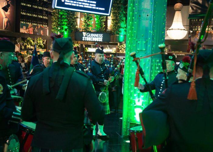 Guinness Storehouse on St. Patrick's Day