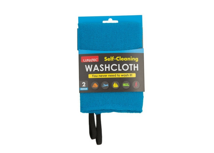 Carry a Travel Washcloth