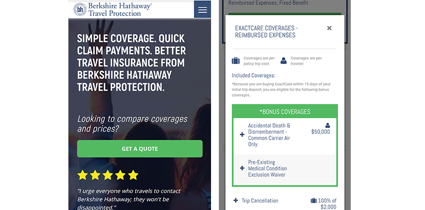 berkshire hathaway mobile screenshot