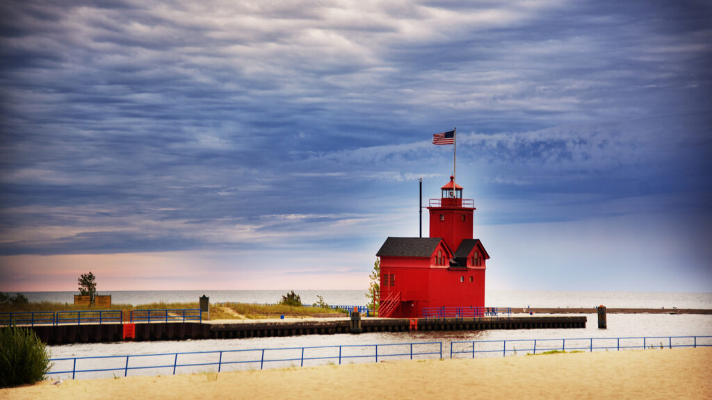 red-lighthouse-holland-michigan