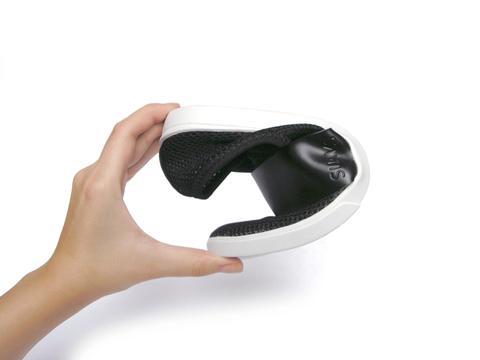 Folded shoes