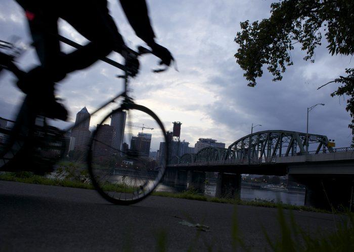 Bike in Portland, Oregon