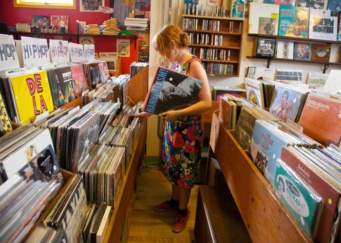Mississippi Avenue Records in Portland, Oregon