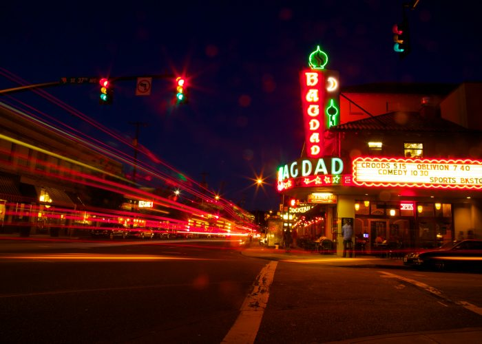 Portland Oregon Bagdad movie theater