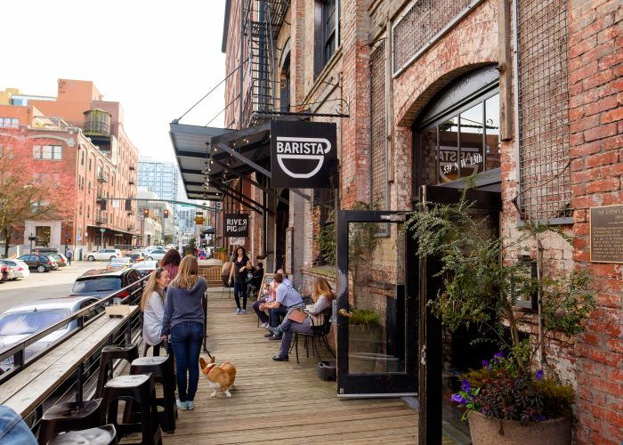 cafe in Portland, Oregon
