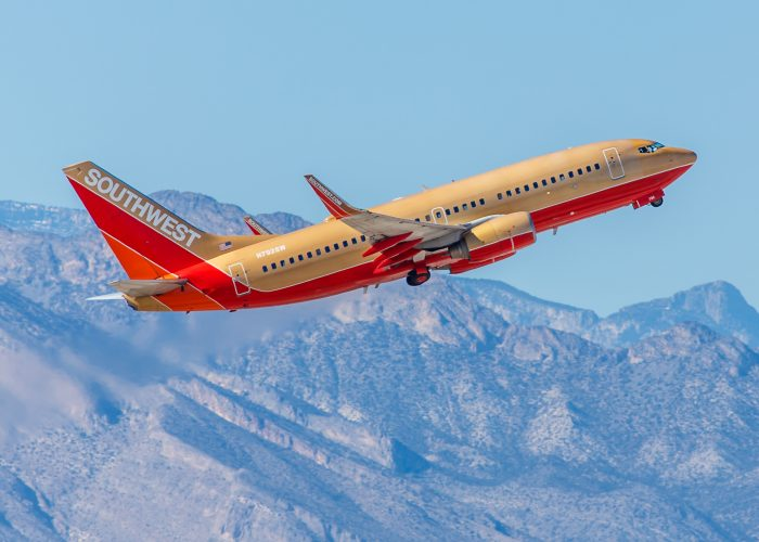 Southwest Airplane Gold Airfare Sale