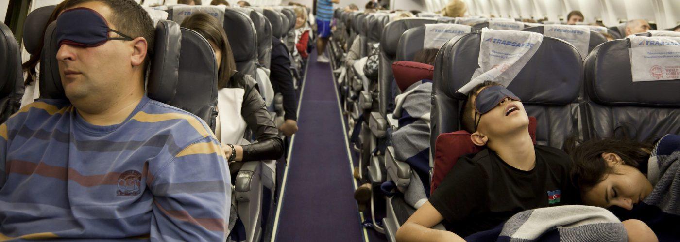 sleep on the plane
