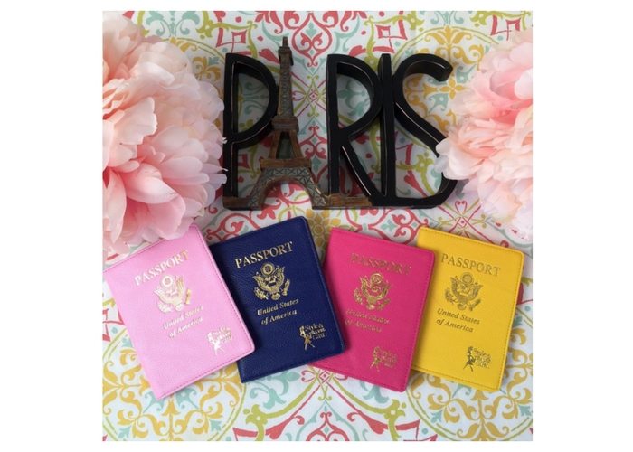 travel gifts $30 Ariana Pierce Passport Cover