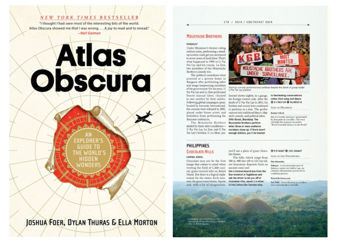 travel gifts $21 Atlas Obscura: An Explorer's Guide to the World's Hidden Wonders