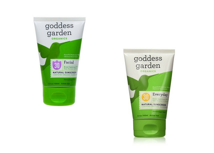 travel gifts $11 Goddess Garden Chemical-Free Sunscreen