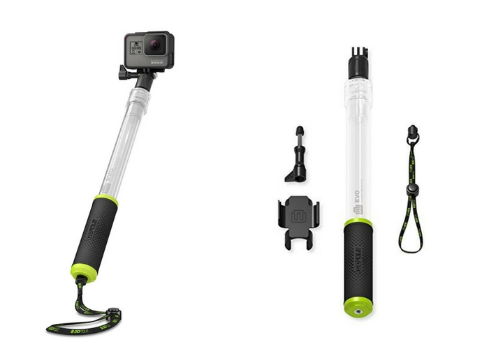 travel gifts $28 GoPole Floating Extension for GoPro