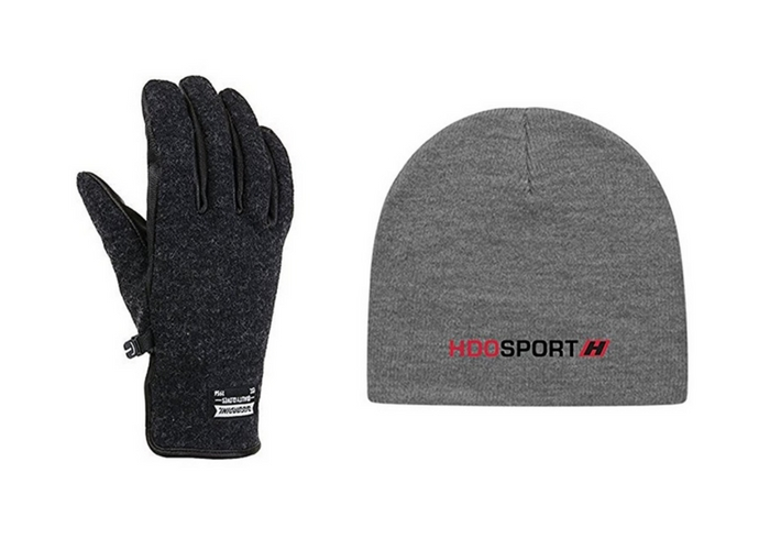 travel gifts $49.50 Gordini Men's Shelburne Gloves and Hat Combo