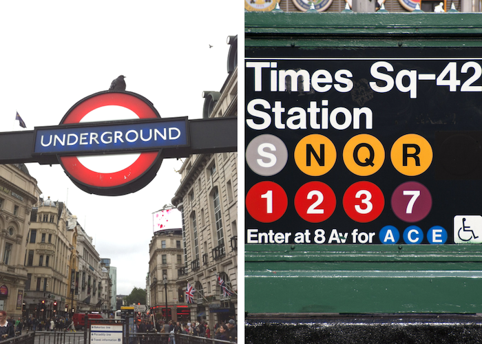 new yorkers vs londoners