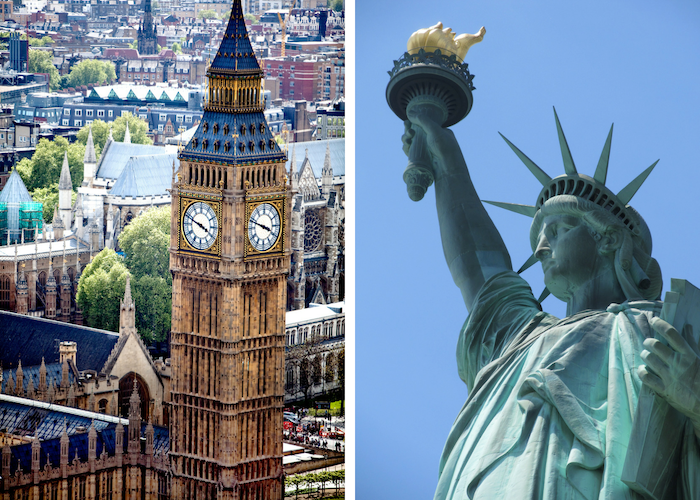 73b8e3974d690 History: London has been around since approximately 50 C.E., whereas New  York City didn't come along until 1624. So London definitely crushes New  York on ...