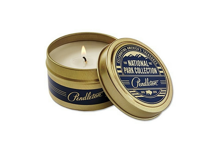 travel gifts $29 Orvis Pendleton National Park Candles