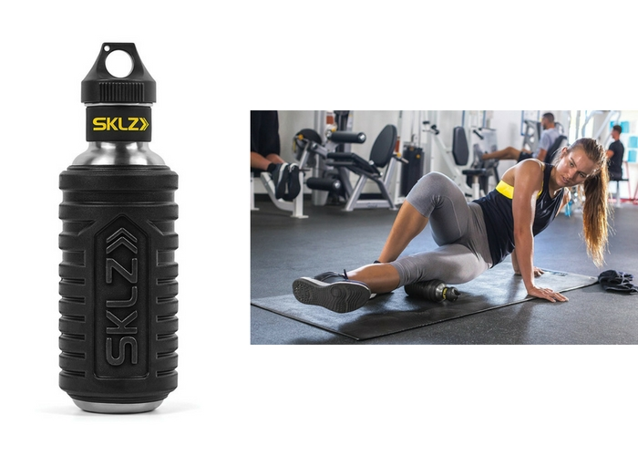 travel gifts $39.99 SKLZ Hydro-Roller Water Bottle Foam Roller