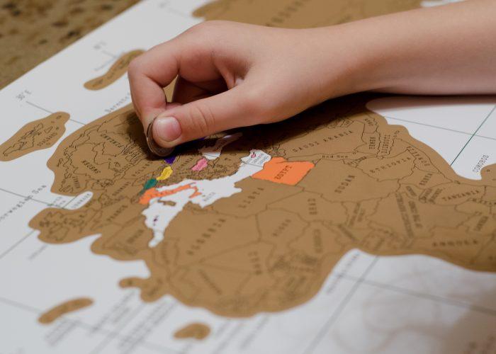 Scratch Off Map