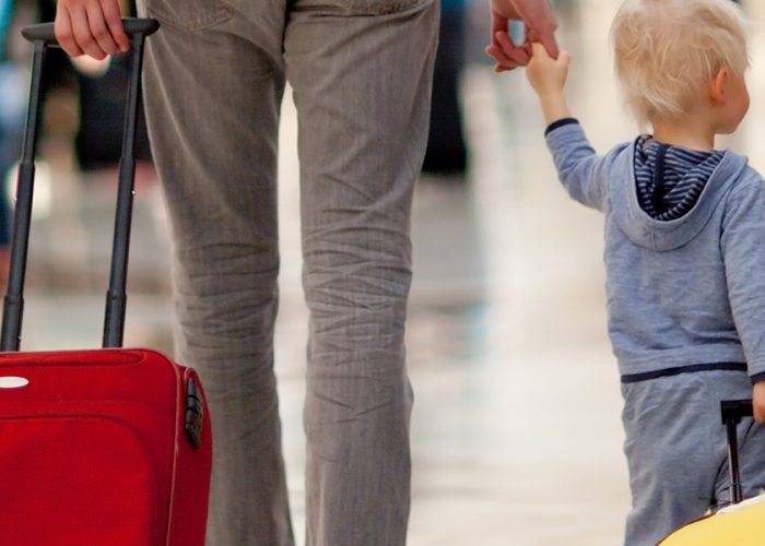 Airport_Father and Son at Airport Kids Suitcase_Hero.jpg