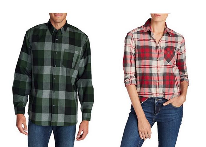 Eddie bauer favorite flannel shirt