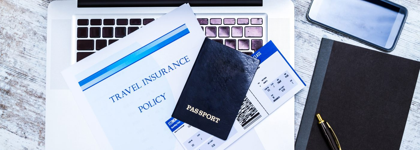 travel insurance and passport