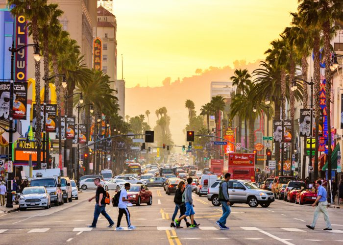 places to visit in the u.s. Los Angeles, California