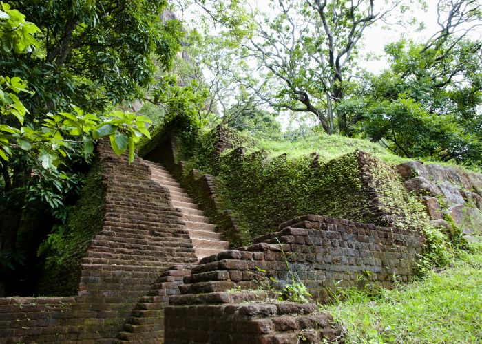 Sri Lanka Sigiriya climb