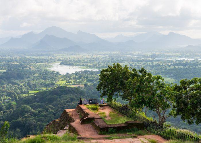 Sri Lanka Sigiriya peak view