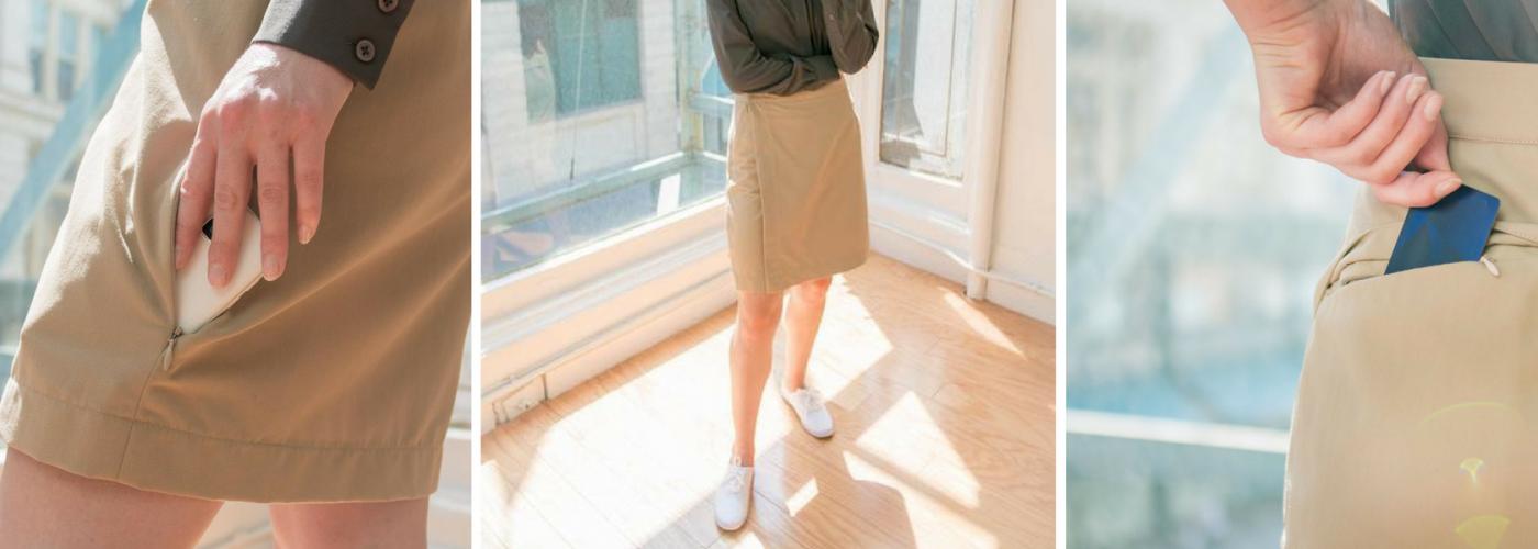 Clothing Arts Travel Wrap Skirt