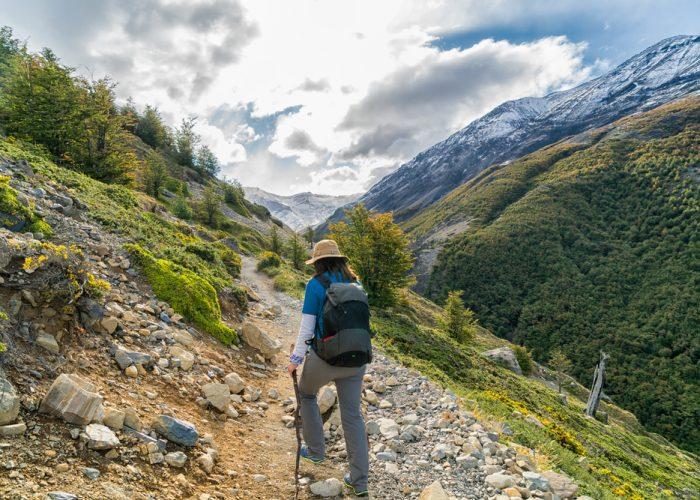 W Trek in Torres del Paine National Park