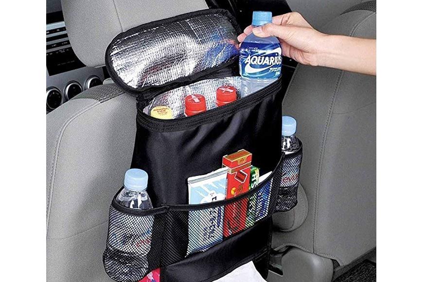 AUTOARK standard car seat back organizer,multi-pocket travel storage bag