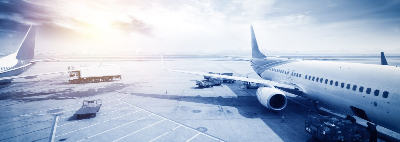 Airplane - Grey Photo of Airplane Airfare Sale