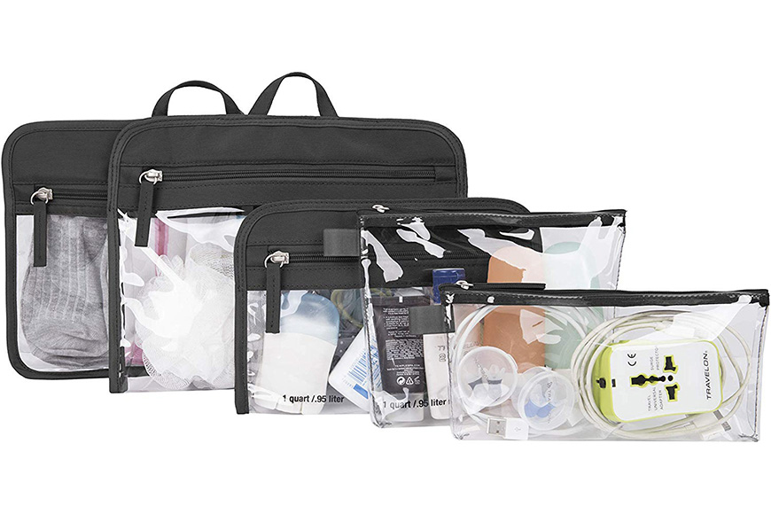 Travelon packing pouches,