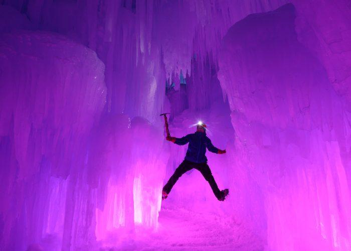 New Hampshire Ice Castles