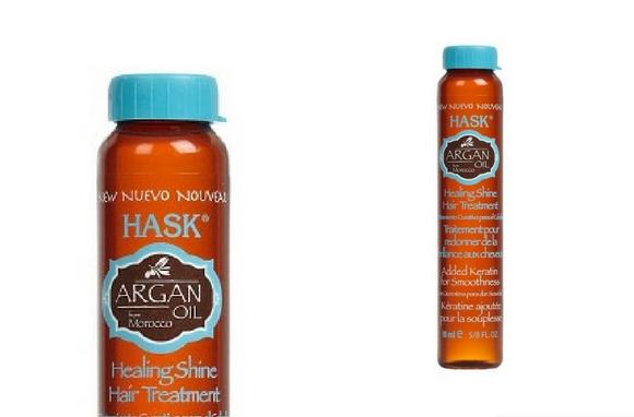 argan oil Hask travel toiletries