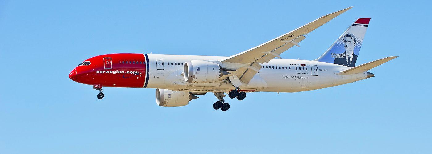 """Norwegian Airline"" ""Plane"""