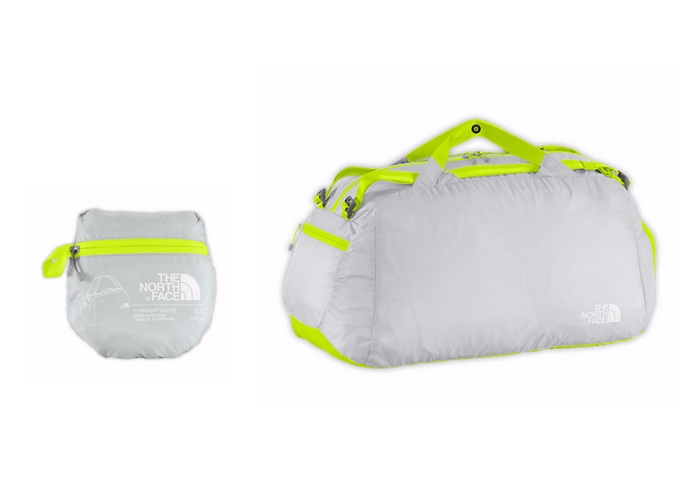 foldable travel bags north face