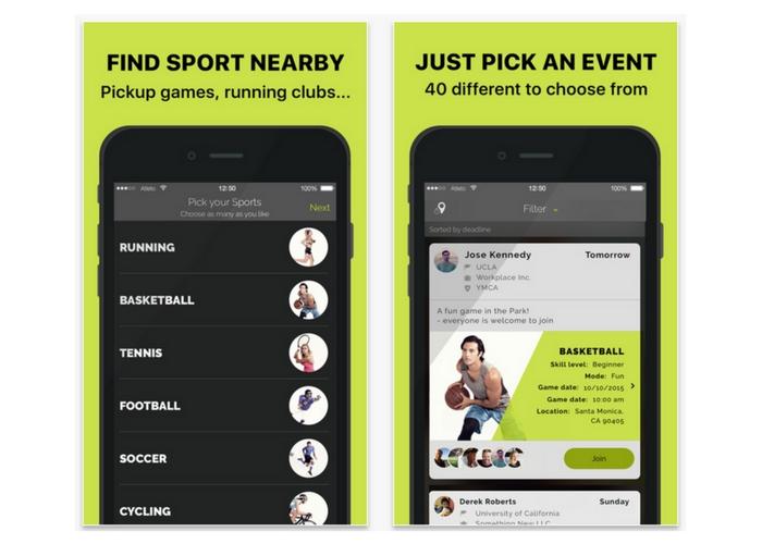 best health apps atleto
