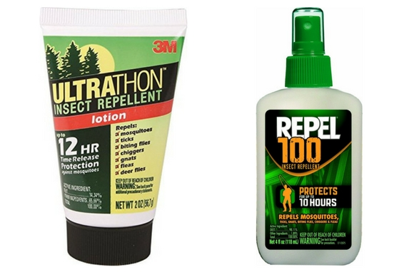 DEET Bug Spray and Lotion