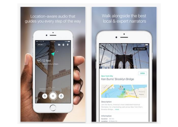 best health apps walking tours