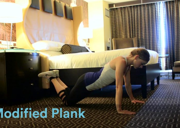 10 Exercises You Can Do in Your Hotel Room (Video)
