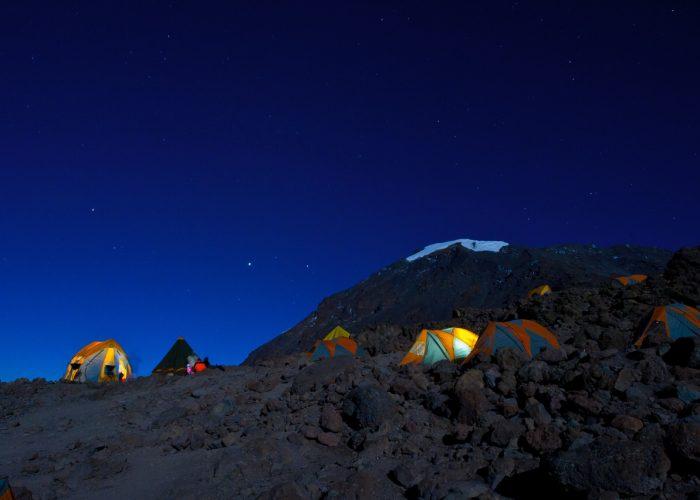 Full-Moon Ascent of Kilimanjaro