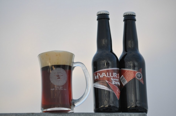 Hvalur (Dung Smoked Whale Testicle Beer)