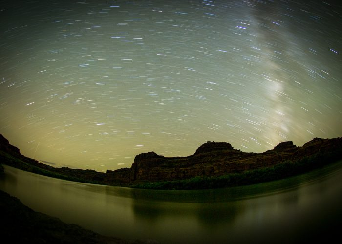Night-Vision Rafting on the Colorado River