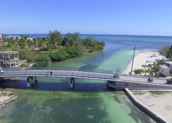 What Happens When You Fly a Drone Over Belize's San Pedro