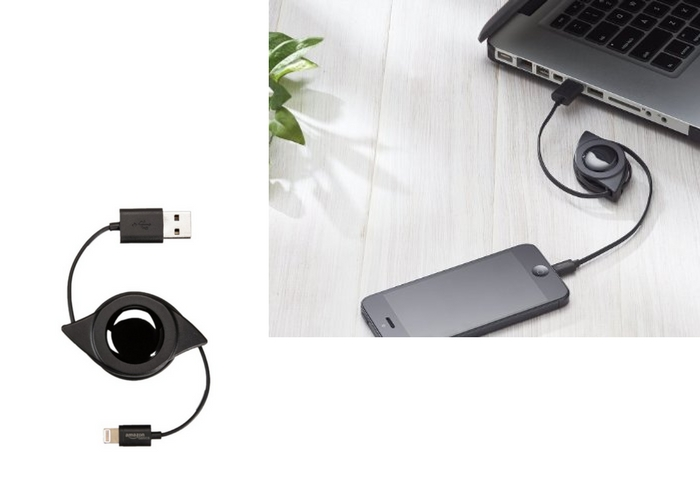 best travel tech gadgets retractable cord