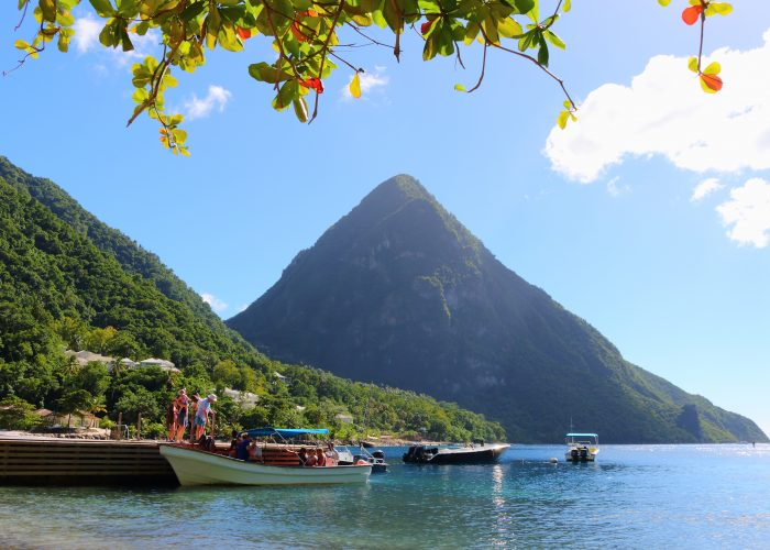 family vacation destinations in 2017 st. lucia