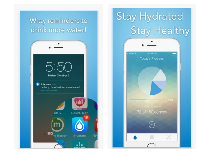 best health apps hydrate