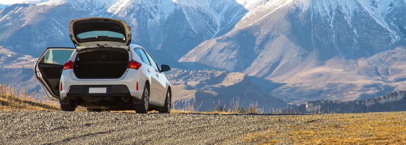 cheap car rental and mountains