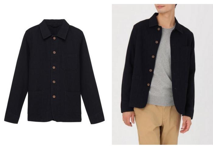 lightweight spring jackets muji